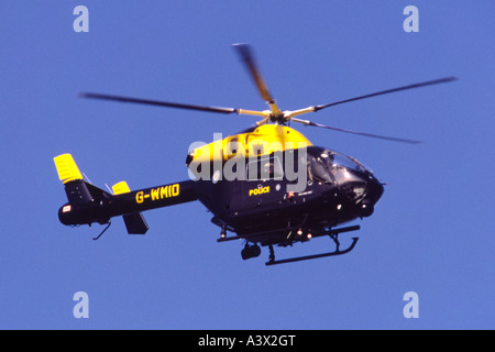 Police Helicopter In Flight West Yorkshire Stock Photo Royalty Free Image 4