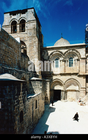 geography / travel, Israel, Jerusalem, Grabeskirche, Church of the Holy Sepulchre, called Church of the Resurrection, - Stock Photo
