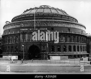 geography / travel, Great Britain, London, buildings, Royal Albert Hall, exterior view, 1950s, Additional-Rights - Stock Photo