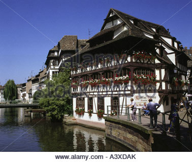 alsace strasbourg grand island winter market stock photo royalty free