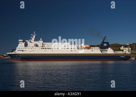 Canada Newfoundland Port Aux Basques ferry to Nova Scotia - Stock Photo