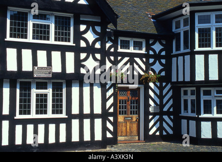 Sweet Briar Hall, Hospital Street, Nantwich, Cheshire, England, UK - Stock Photo