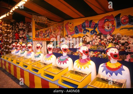 Laughing Clowns at the Carnival - Stock Photo