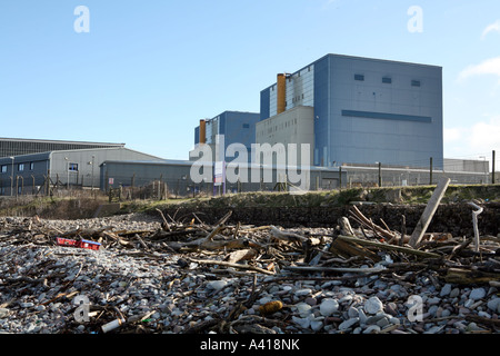 Hinkley Point nuclear power station, Somerset UK. - Stock Photo