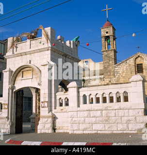 Church Of St.Gabriel Nazareth Israel Middle East - Stock Photo