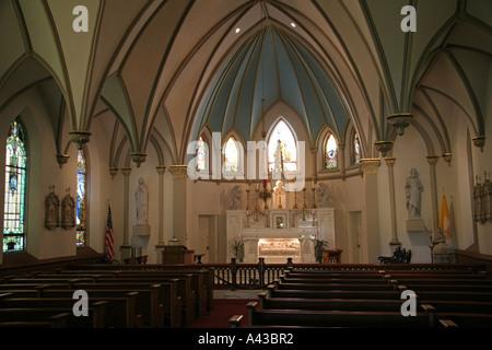 Church Sanctuary - Stock Photo