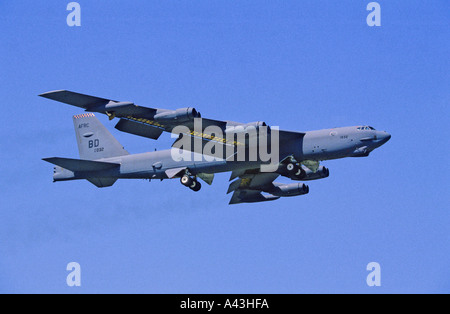 US Air Force Boeing B-52 Stratofortress strategic bomber - Stock Photo