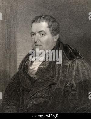 Sir John Leslie, 1766 - 1832. Scottish mathematician and physicist. - Stock Photo