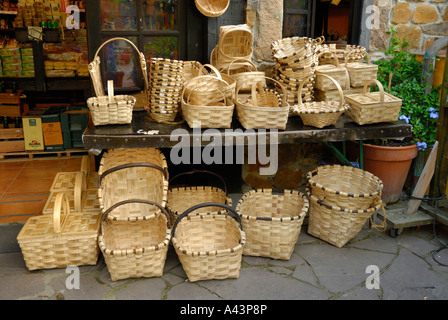 SOUVENIRS BARCENA MAYOR CANTABRIA SPAIN - Stock Photo