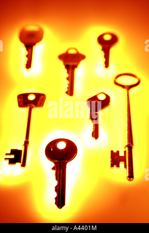 Keys - Stock Photo