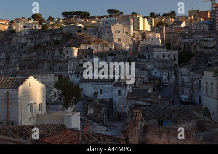 Buildings of Matera - Italy - Stock Photo