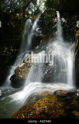 Chorro las Yayas waterfalls, near El Cope in the Cocle province, Republic of Panama. - Stock Photo