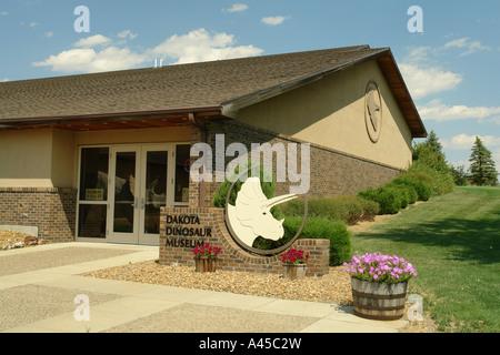 AJD57312, Dickinson, ND, North Dakota, Dakota Dinosaur Museum - Stock Photo