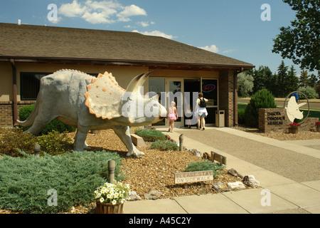 AJD57313, Dickinson, ND, North Dakota, Dakota Dinosaur Museum - Stock Photo