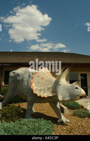 AJD57315, Dickinson, ND, North Dakota, Dakota Dinosaur Museum - Stock Photo