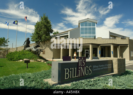 AJD57217, Billings, MT, Montana, It's Billings, Chamber of Commerce, Convention and Visitor Bureau, Cattle Drive - Stock Photo