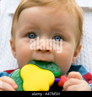 Cute Funny Naive Little Child With A Picking Nose Habit