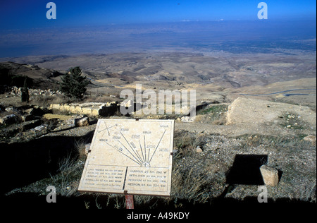 Mount Nebo Jordan Middle East - Stock Photo
