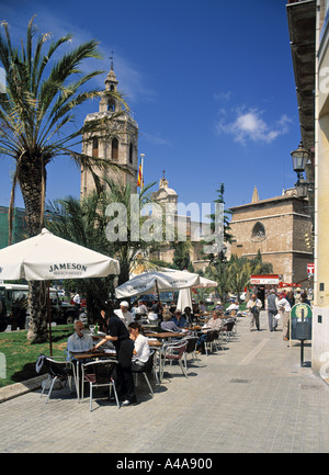 Plaza de la Reina, Valencia, Spain - Stock Photo