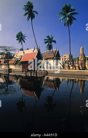 Wat Yai Suwannaram, Phetchaburi, Thailand - Stock Photo