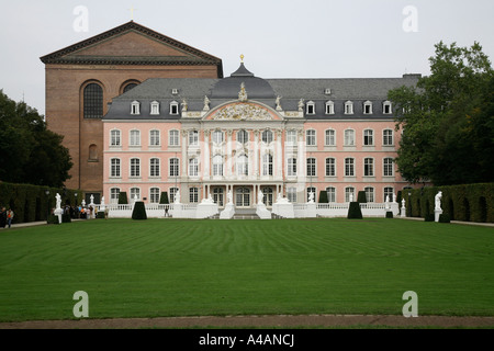Electoral Palace in Germany Trier UNESCO World Cultural Heritage, Germany's oldest city. - Stock Photo