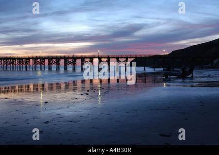 Gaviota Pier - Stock Photo