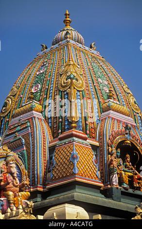 Sri Prasanna Veeranjaneyaswamy Hindu temple Bangalore Karnataka India - Stock Photo