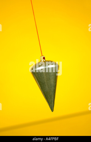 Plumb bob Präzisionslot Lot - Stock Photo