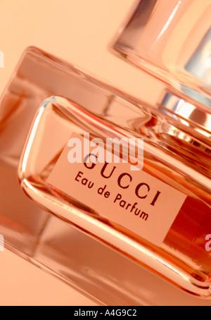 Gucci Perfume Bottle - Stock Photo