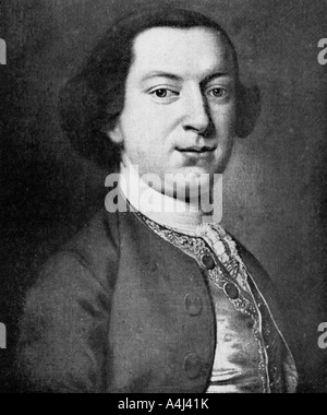 Horace Walpole, 4th Earl of Orford, politician, writer, architectural innovator, 1910. Artist: Unknown - Stock Photo