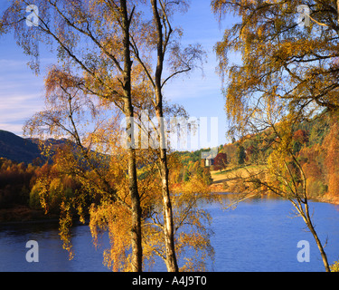 GB - SCOTLAND:  Autumn at Loch Tummel - Stock Photo