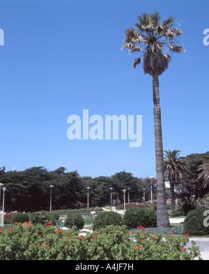 Casino And Gardens, Estoril, Estoril Coast, Estremadura, Portugal - Stock Photo