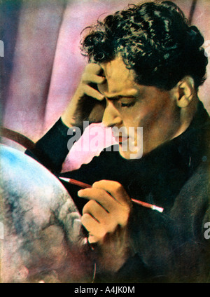 Francis Lederer Czech born actor 1934 1935  - Stock Photo