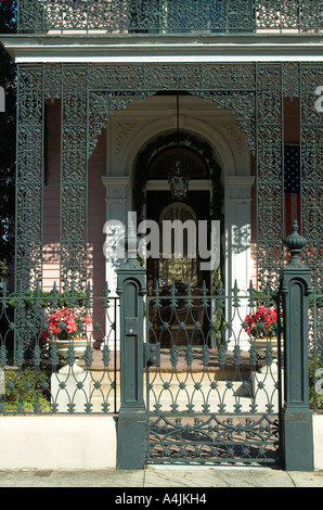 Garden District, New Orleans, Louisiana - Stock Photo