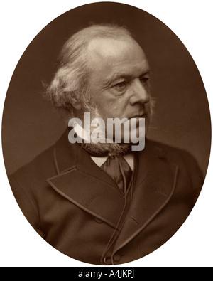 Henry Austin Bruce, 1st Baron Aberdare, statesman, 1882.Artist: Lock & Whitfield - Stock Photo