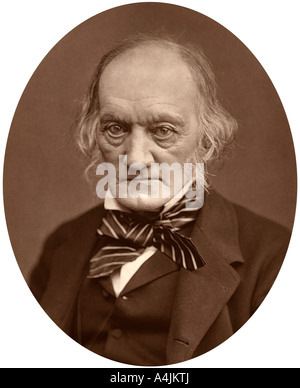 Richard Owen, 1878.Artist: Lock & Whitfield - Stock Photo