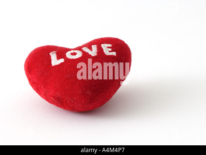 Heart cushion - Stock Photo
