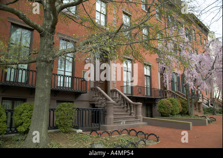 Historic Row Houses on Jackson Place across form the White House ...