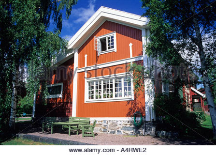 Carl Larssons home Sundborn Dalarna Sweden - Stock Photo