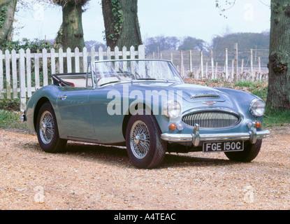 1965 Austin Healey 3000 mk3 - Stock Photo
