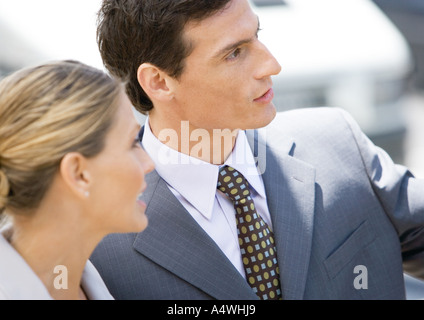 Businessman and woman - Stock Photo