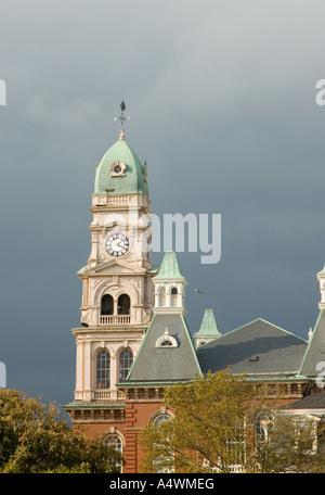 Scene from Gloucester Massachusetts on Boston's North Shore - Stock Photo