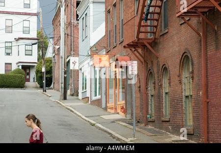 Scene from Gloucester Massachusetts - Stock Photo