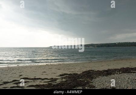 Storm coming in Gloucester Massachusetts - Stock Photo