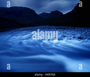 GB - SCOTLAND: Glen Etive in the Highlands, Argyllshire - Stock Photo