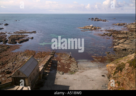 LIZARD POINT CORNWALL ENGLAND - Stock Photo