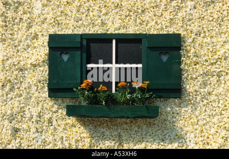Traditional daffodil festival on the Grundl lake Styria Austria - Stock Photo