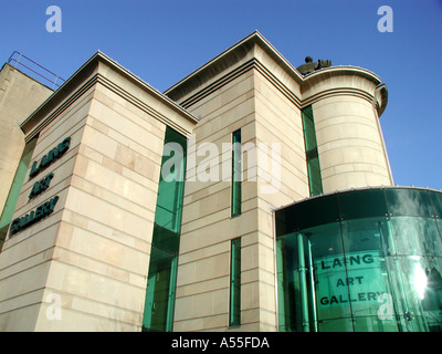 Laing Art Gallery Newcastle upon Tyne - Stock Photo
