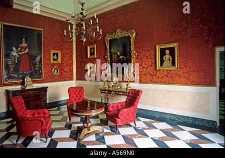 Aranjuez royal palace Comunidad de Madrid Spain - Stock Photo