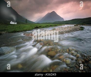 GB - SCOTLAND:  River Coupall in Glen Coe - Stock Photo